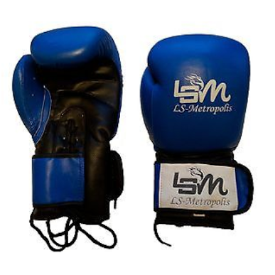 Hybird Lace and Leather Boxing gloves